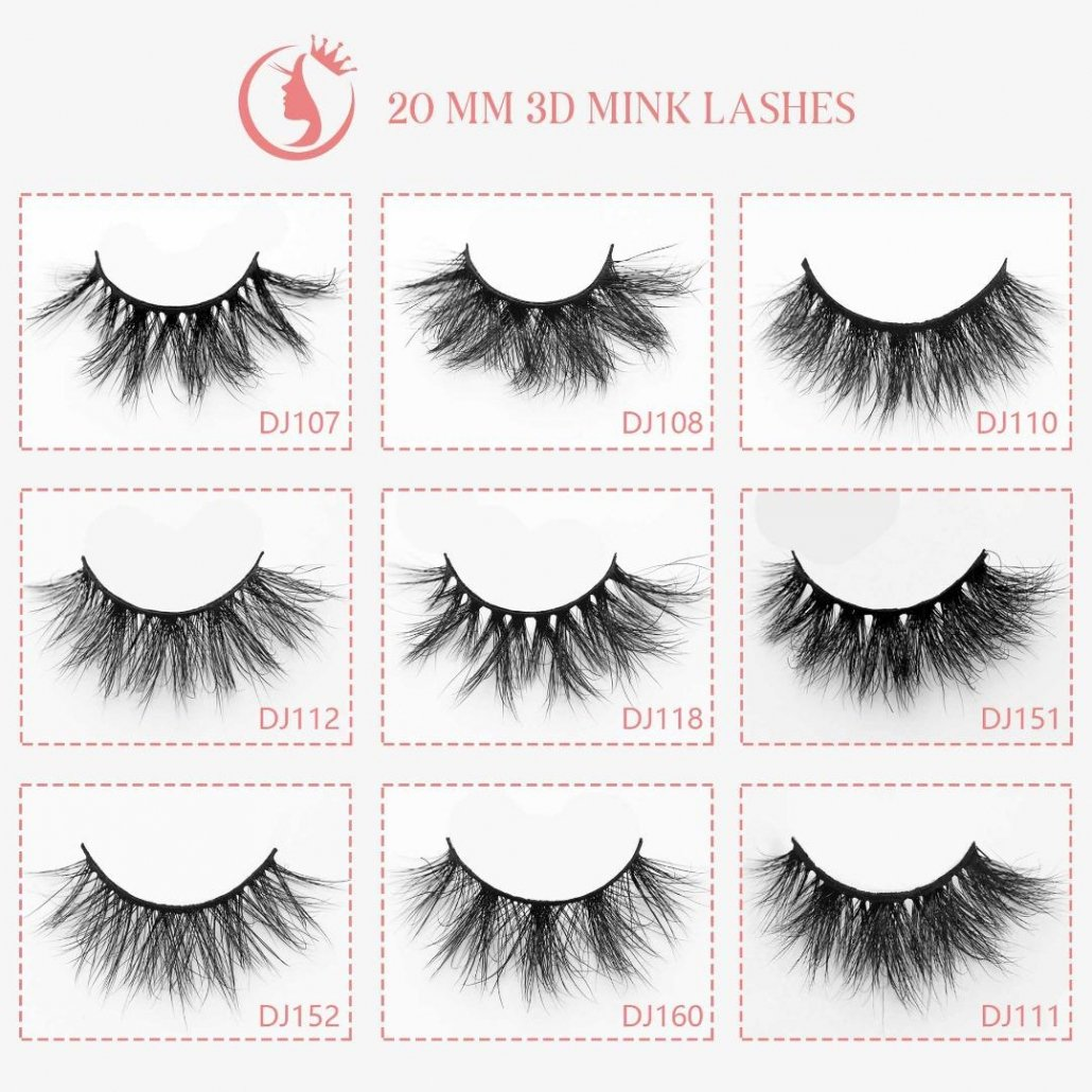 wholesale mink lash 20mm