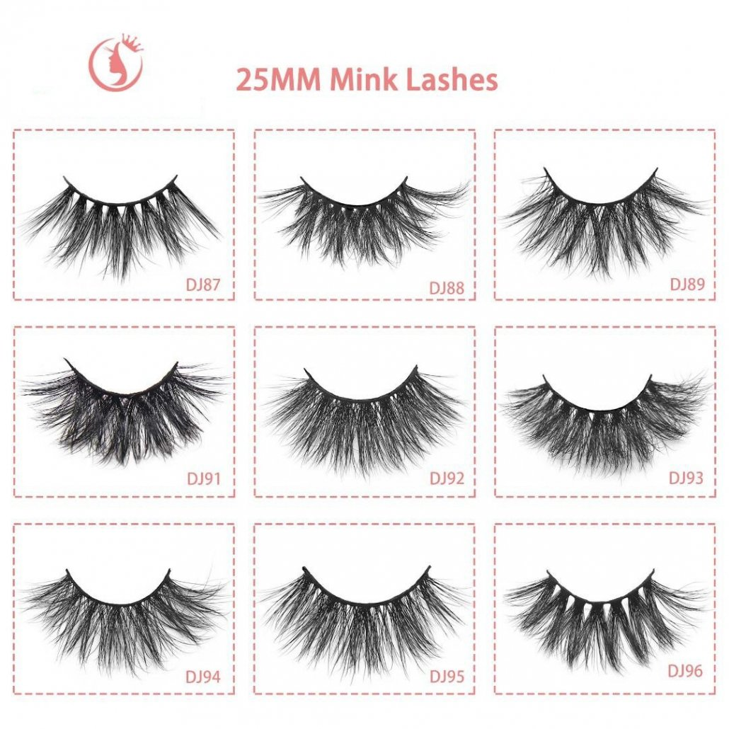 wholesale mink lash 25mm