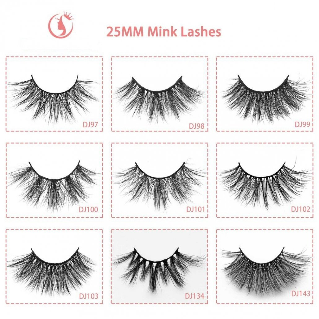 mink lash wholesale 25mm