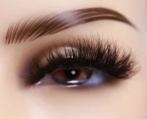 3D eyelashes supplier DJ151