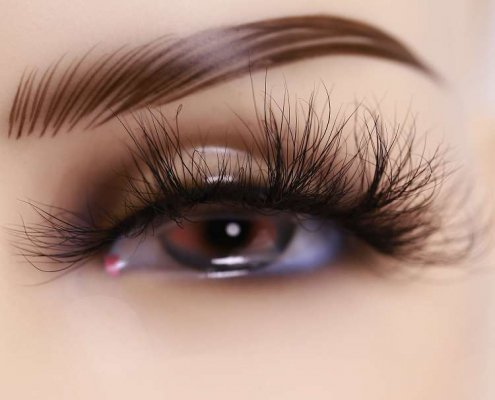 3d mink lashes vendor DJ134