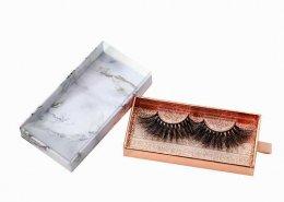 Marble drawer eyelash packaging