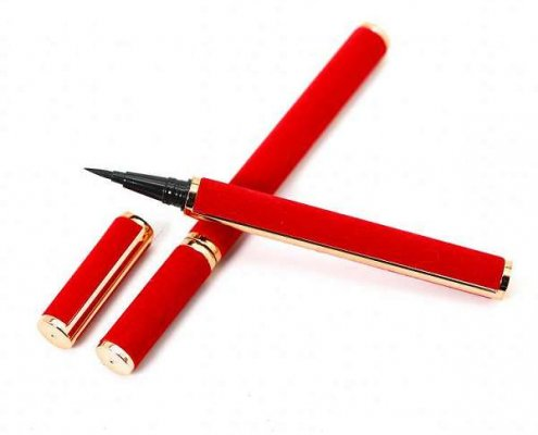 Wholesale Red 3D Mink eyelash glue eyeliner pen