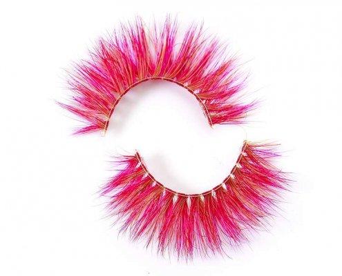 Wholesale colored mink lash CD21