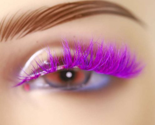 Wholesale colorful mink lashes CD89