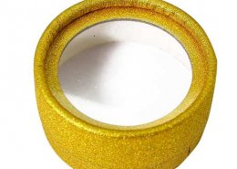 Wholesale gold glitter lash cases from mink lashes vendor