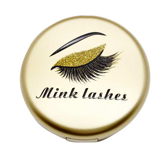 gold lashes cases