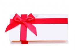 red Ribbon lashes packaging from lashes vendor